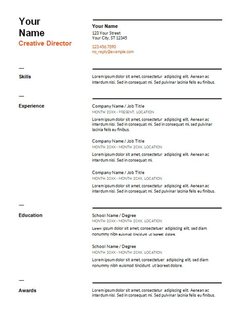 cv layout switzerland 10 best resume templates you can free download ms word