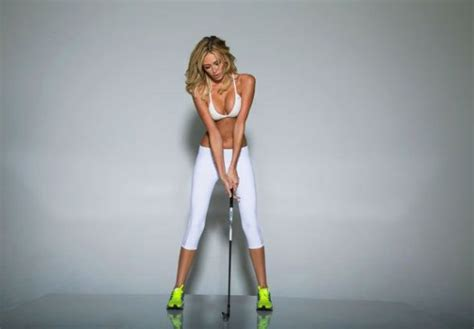 paulina gretzky golf swing paulina gretzky poses for golf digest cover photo
