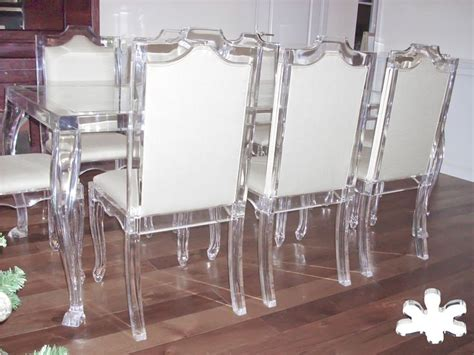 Clear Acrylic Dining Table And Chairs Best 25 Acrylic Chair Ideas On Clear Chairs Ghost Chairs And Lucite Chairs