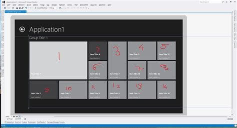 visual basic xaml tutorial changing gridview s item wrapping order in xaml stack