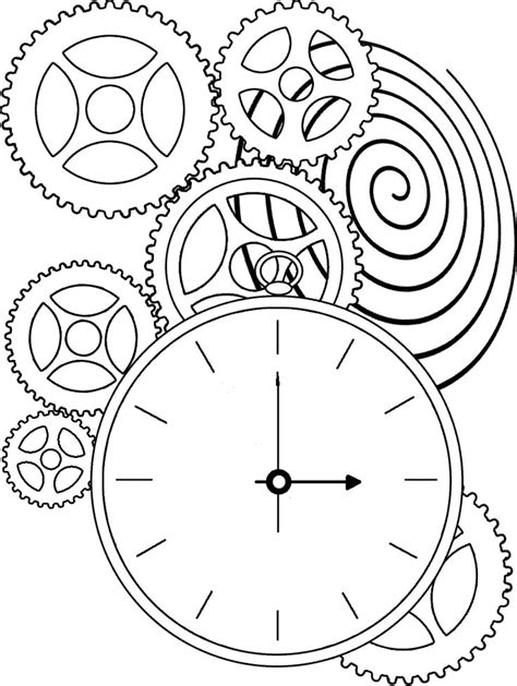 printable clock gears 25 beautiful time clock tattoo ideas on pinterest