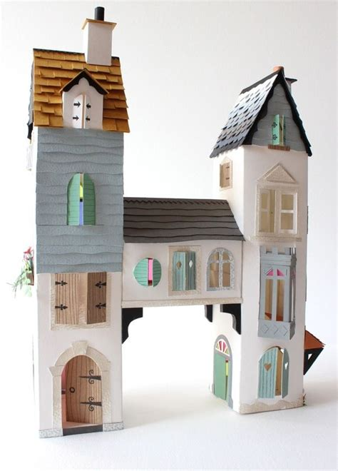 Craft Paper House - 25 paper house projects for to do