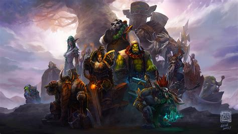 Wallpaper 4k Wow | world of warcraft characters 4k wallpapers hd wallpapers