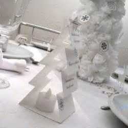 decoration table noel de papier