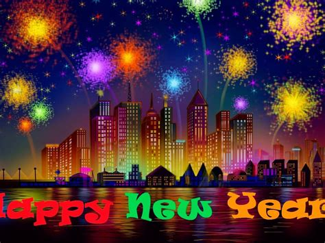 happy  year fireworks image hd desktop backgrounds    wallpaperscom