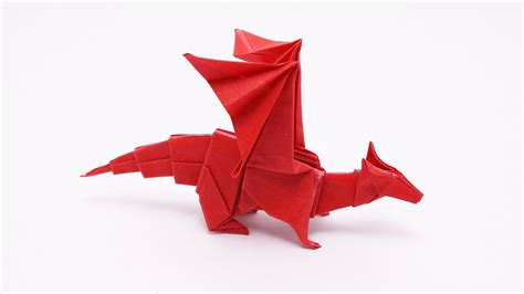 How To Make Origami Dragons - origami v2 jo nakashima 9