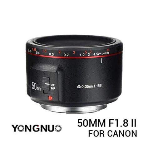 Yongnuo 50mm F1 8 Lensa Kamera lensa yongnuo canon 50mm f1 8 ii harga dan spesifikasi
