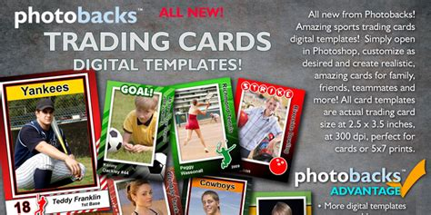free trading card template psd 17 sports psd templates for photographers images free