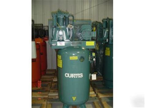 new 5hp curtis industrial air compressor