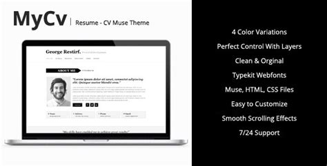 Resume Templates Muse exle resume resume templates muse