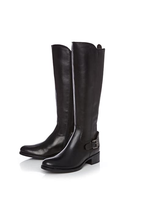 Moda In Pelle Shaznay High Leg Boot by Scarlottan Knee High Boots Christian Need