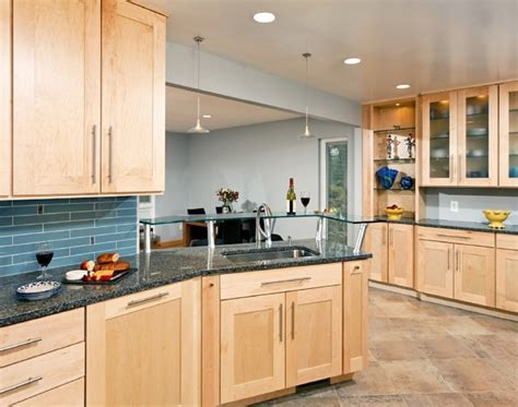 Maple Kitchen Designs Contemporary Maple Kitchen