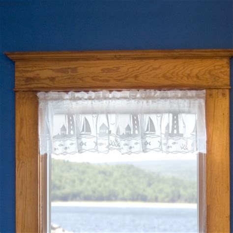 sailboat valances lighthouse and sailboat valances and tiers