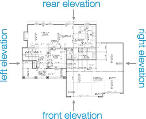 how to read house plans inspiring house plans with elevations and floor plans contemporary best inspiration