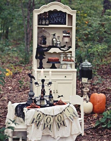 vintage backyard party halloween decorations vintage outdoor party ask home design