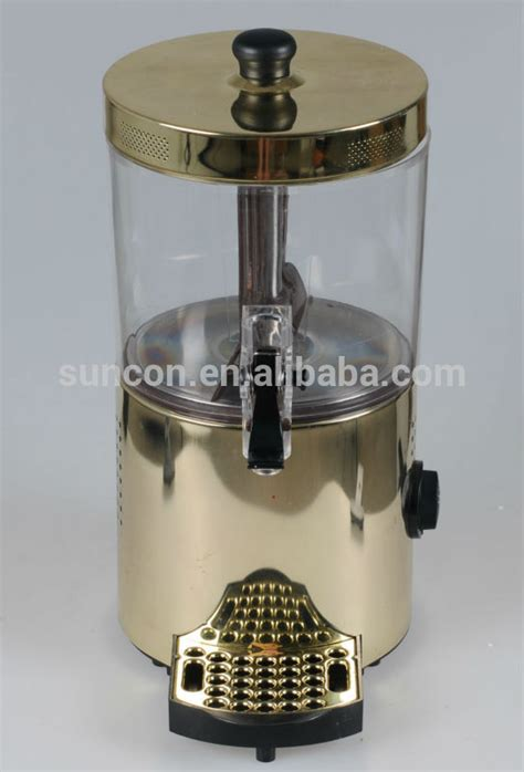 Does Coffee Of Electric Chocolate by Electric Chocolate And Coffee Dispenser 3 L Golden Buy