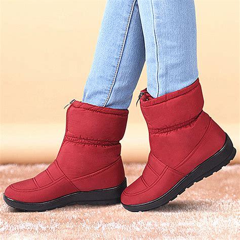 womens cheap snow boots tsaa heel