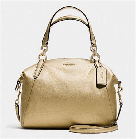 Coach Kelsey Small F56127 Metallic Pebble Leather Bronze coach handbag supplier malaysia style guru fashion glitz style unplugged