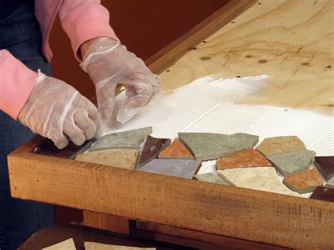 how to a tile table top how to a mosaic tile tabletop how tos diy