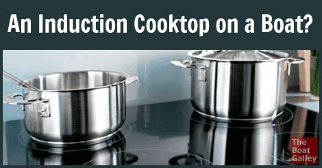 induction cooktop   boat