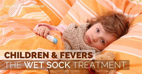 children fevers the sock treatment