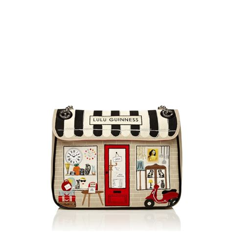 Lulu Guinness This Is The Purse by Vintage Shop Large Annabelle Handbags Designer