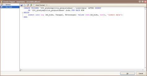 query membuat trigger sistem basis data 171 gladystwozara