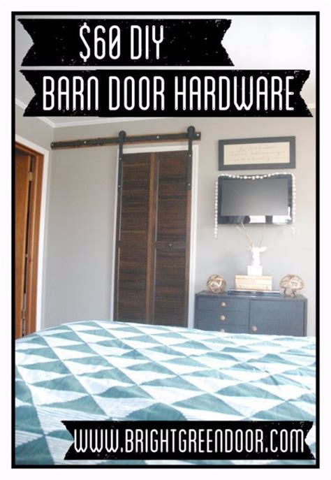 cheap diy barn door hardware 40 home improvement ideas for those on a serious budget