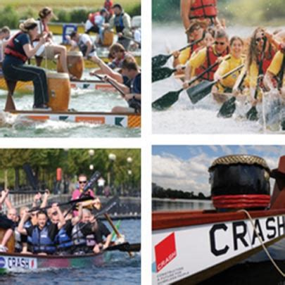 crash dragon boat race make a splash for crash and support your industry charity