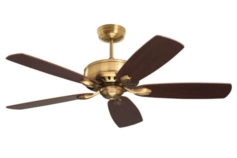 5 speed ceiling fan emerson brushed steel dark cherry chocolate ceiling