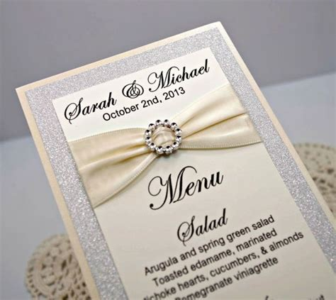 1000 ideas about menu cards on pinterest diy wedding wedding menu wedding ideas pinterest wedding menu