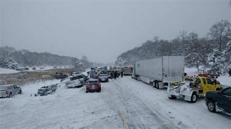 Consumer Reports Kitchen Knives huge multi vehicle pileup in michigan sends cars into