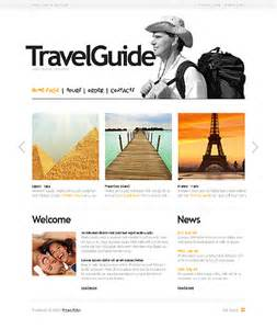 Tour Guide Template by Template 27347 Travel Guide Website Template
