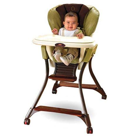Baby In Chair by Fisher Price Zen Collection High Chair