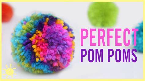 owning a pomeranian diy how to make the rainbow pom pom