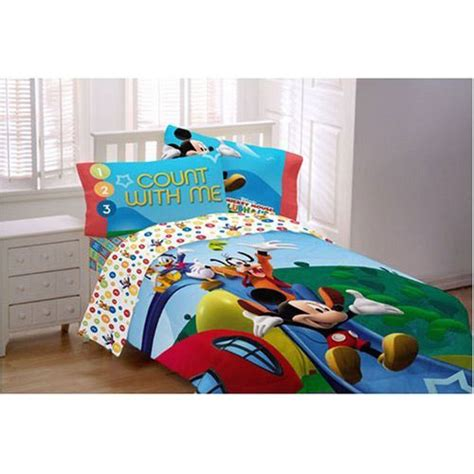 mickey mouse clubhouse bedding comforter set interior