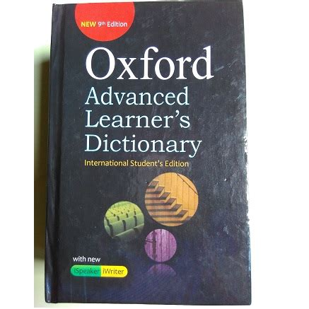 Oxford Advanced Leaners Dictionary oxford advanced learner s dictionary 9th edition free all pc world