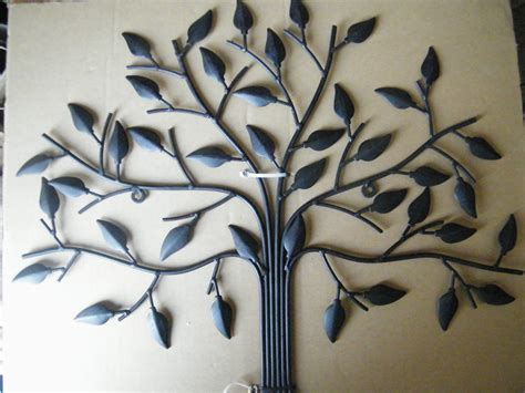 Tree Of Life Rustic Metal Wall Art Home Decor Garden Decor Garden Wall Sculptures