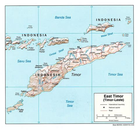 east timor map asia political map of east timor east timor political map
