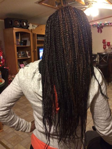 feathered hair braids box braids feathered tips natural hair pinterest