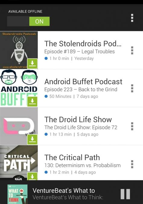 android podcast app review sticher radio for podcasts android appapp review updates
