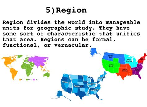 5 themes of geography vernacular region 5 themes of geography project screen 6 on flowvella