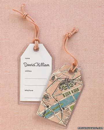 martha stewart printable luggage tags traveling place tag step by step diy craft how to s