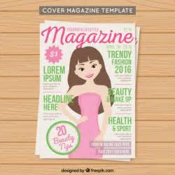 make your own magazine cover template cover fashion magazine template vector free