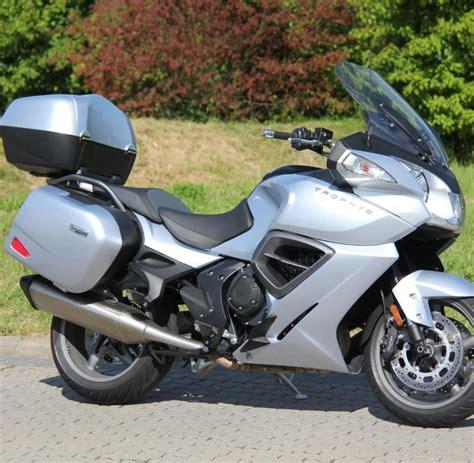 Mobile Tourer Motorrad by Luxus Tourer Triumph Trophy Se Fast So Edel Wie Eine S