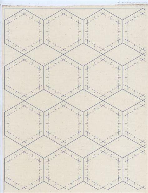 hexagon tutorial quilting hexagons fabrics and tutorials on pinterest