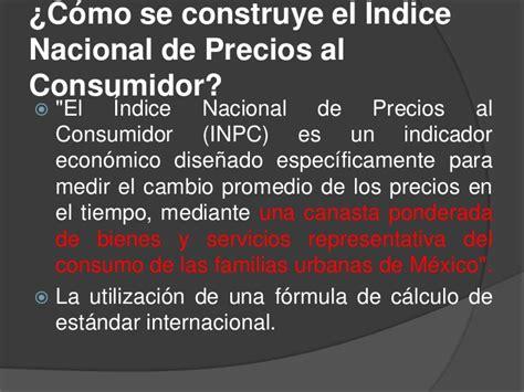 clculo de variaciones del ndice de precios al consumidor indice de precios al consumidor