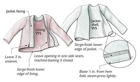 clothes pattern definition bag your jacket lining bags patterns and easy a