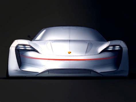 Porsche Mission E Sketches by The Design Of The Porsche Mission E Concept Car