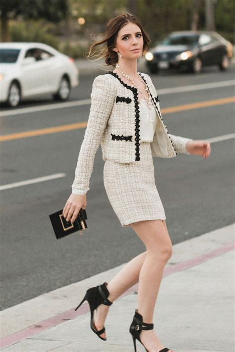 tweed style jacket 25 best ideas about tweed jackets on chanel
